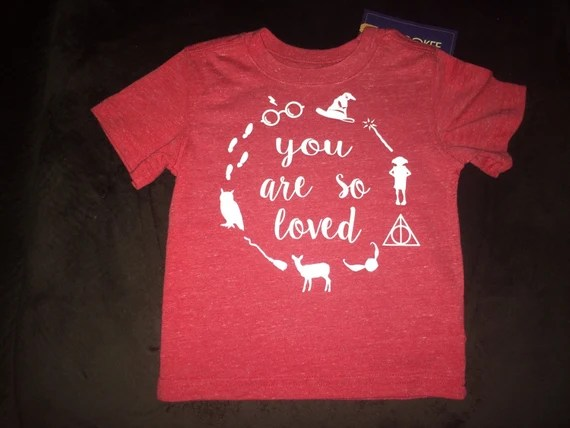 Download You are so loved Harry Potter Baby/Toddler and Kids Shirt