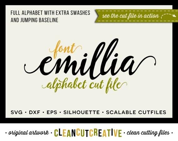 Download Full Alphabet SVG Fonts Cutfile - Fun Modern Script cricut ...