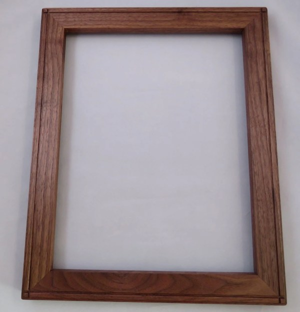 11 X 14 Black Walnut Frame W2