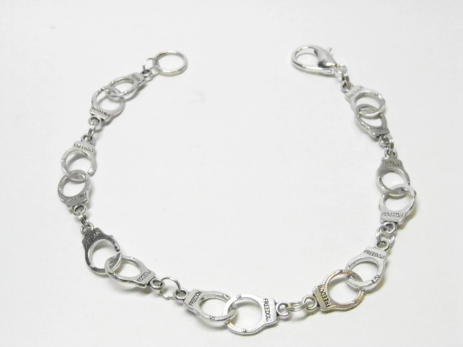 Fifty Shades of Grey Handcuff Anklet Unisex Hand Cuff Anklet