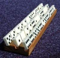 Mexican Train Domino Holder 4-Pack