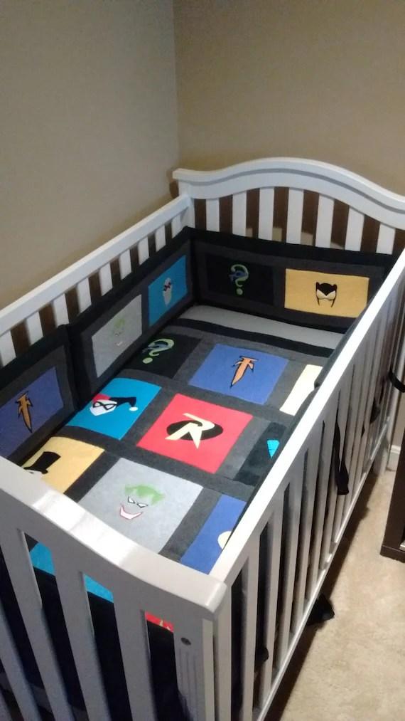 Batman Fleece Set by Yoderbydesign