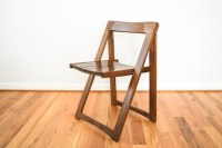 folding chair mid century chair retro chair mid century