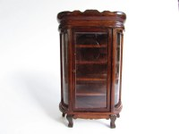 Vintage Dollhouse China Cabinet, Concord Miniature Wooden ...