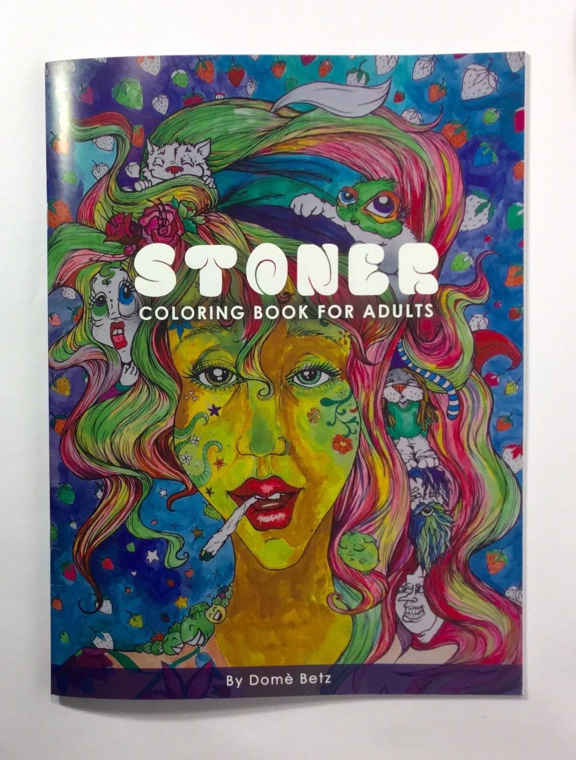 Stoner Coloring Book for Adults weed stuff adult by dOmaniaPower