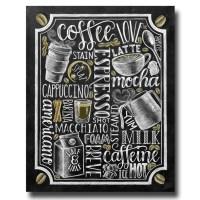 Coffee Sign Kitchen Art Coffee Bar Chalkboard Art Chalk