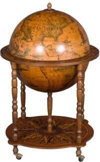 Vintage Globe Bar Liquor Cabinet