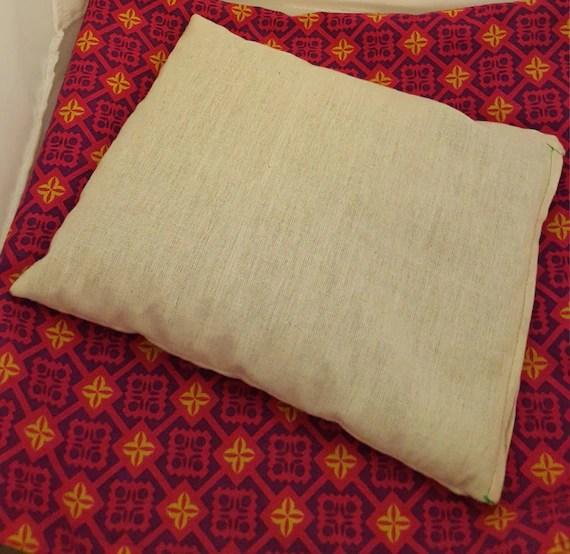 Organic Buckwheat Pillow Dream Pillow Natural by HaraHealingShop