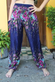 Flower Yoga Pants