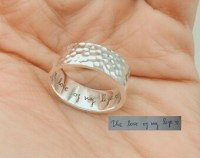 Heart Promise Ring Christmas Gift Knot Promise Ring by ...