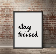 Motivational Quotes On Staying Focused Year Of Clean Water