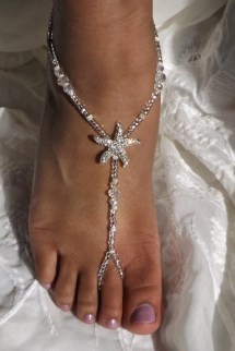 Bridal Barefoot Sandals Foot Jewelry