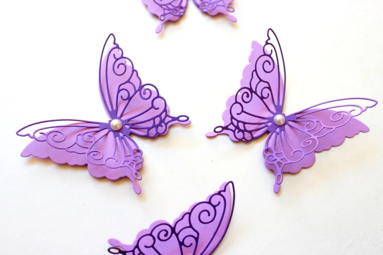 Purple Butterfly Wall Decor Purple Wall Art Butterfly Wall