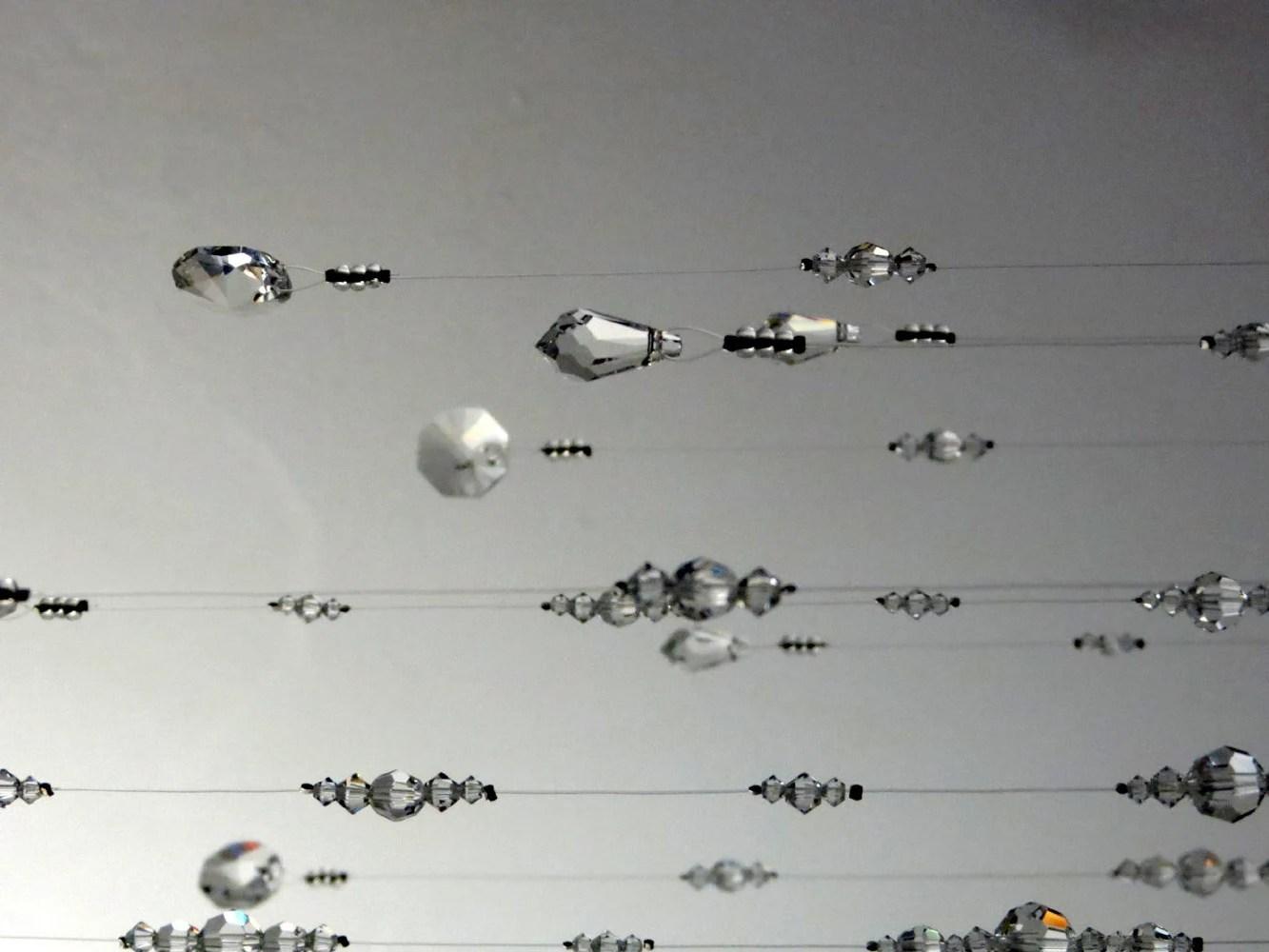 Medium Crystal Chandelier Mobile Hanging Garland Swarovski