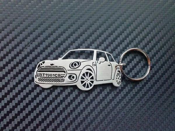 Mini Cooper Key Chain