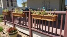 Redwood Universal Deck Rail Planter Box Kstvcreations