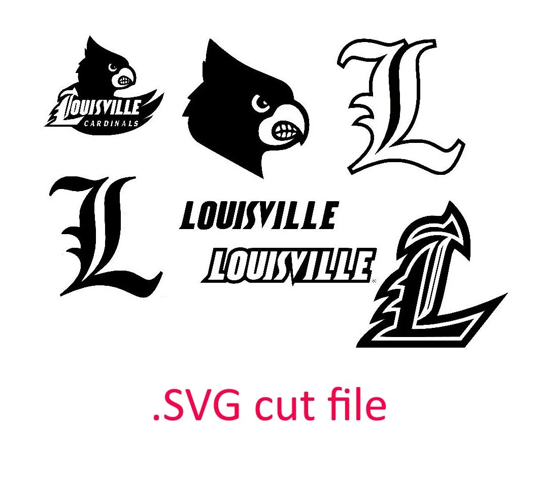 university louisville cardinals SVG files for by