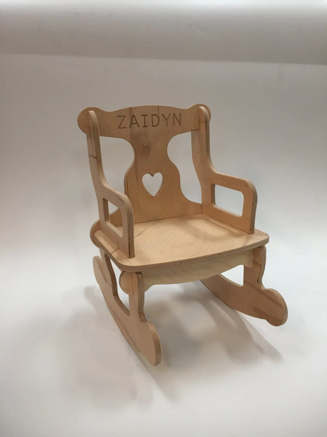 unfinished rocking chair roll back parson slipcovers medium puzzle