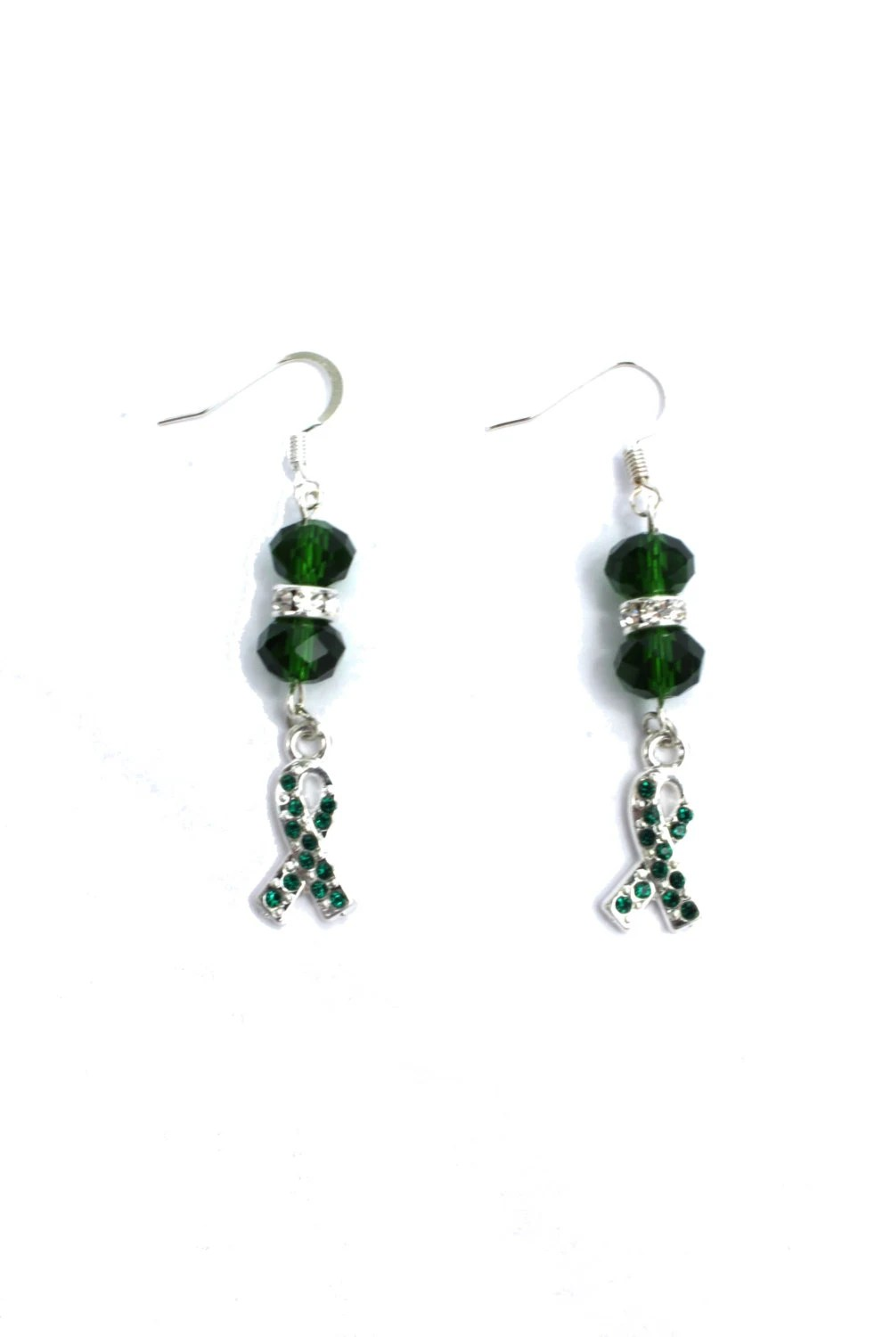 Cerebral Palsy Awareness Earrings with Extra Bling