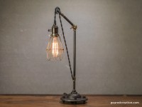 Pulley Lamp Pulley Table Lamp Pulley Light Edison Table
