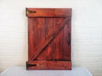 large Rustic Barn Door Wall Decor by ReadinginRags on Etsy