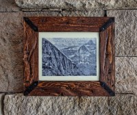 8 x 10 Rustic Picture Frame Wood Frame Rustic Decor