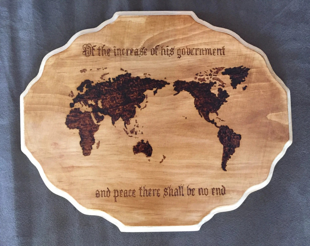 bible verse wood burning  Etsy