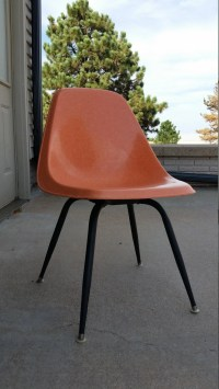1950s Shell Chair Fiberglass By Borg Warner of California ...