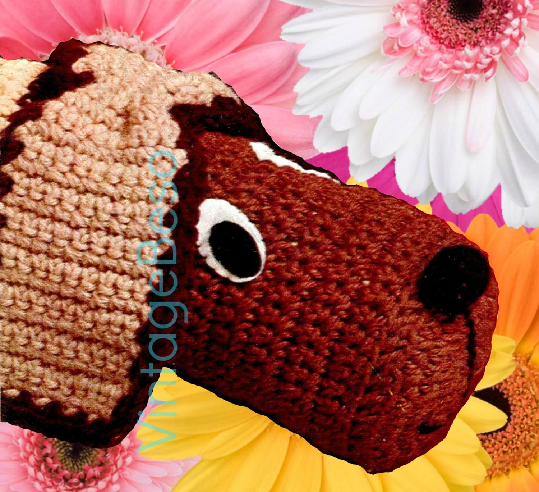 Wind Stopper Crochet Pattern 1970s Door Draft Excluder
