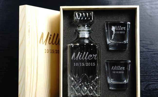 Mens Gift Whiskey Decanter Personalized Gifts For By