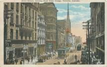 Vintage Postcard 1900s Toronto King Street