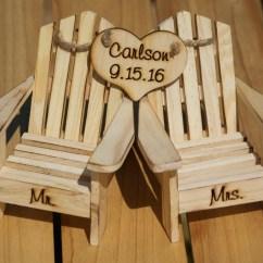 Adirondack Chair Cake Topper Teak Chairs Dining Beach Wedding Cottage