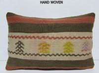 lumbar kilim pillow patio pillow case 16x24 by ...