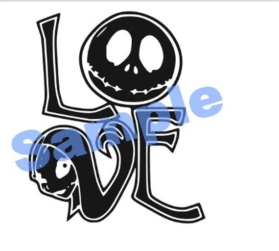 Download Jack and Sally SVG