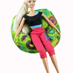 Princess Bean Bag Chair Blue Dining Chairs Uk Barbie Bbc15002 Monster High Bratz