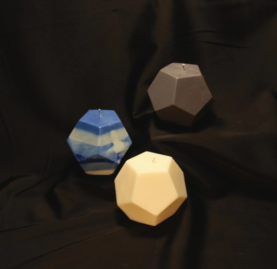 Soy Dodecahedron Spirit Candle
