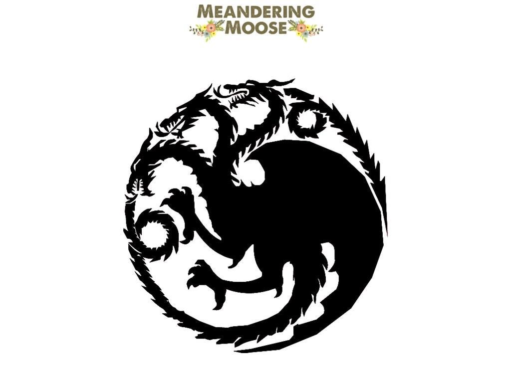 Game of Thrones House Targaryen Decal / by MeanderingMooseCo