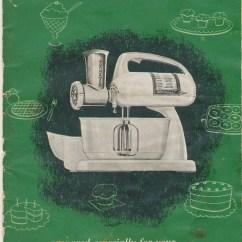 Beater Kitchen Island Posts Vintage Dormeyer Power Chef Mixer Manual & Recipe Book
