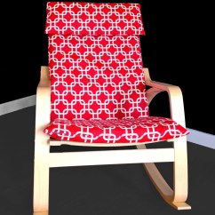 Ikea Poang Chair Review Covers No Arms Red Squares Cover