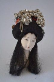 geisha hairstyle model japanese