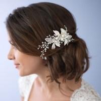 wedding hair clip pearl pearl hair clip wedding hair clip ...
