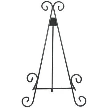 Wrought Iron Easel Wedding Sign Stand Jenga Guestbook Sign