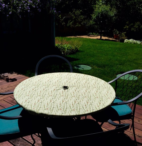 Fitted Tablecloth Table Cover Outdoor Patio