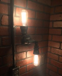 Steampunk Industrial Double 2 directional wall by ...