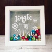 Jingle all the way frame christnas decor christmas