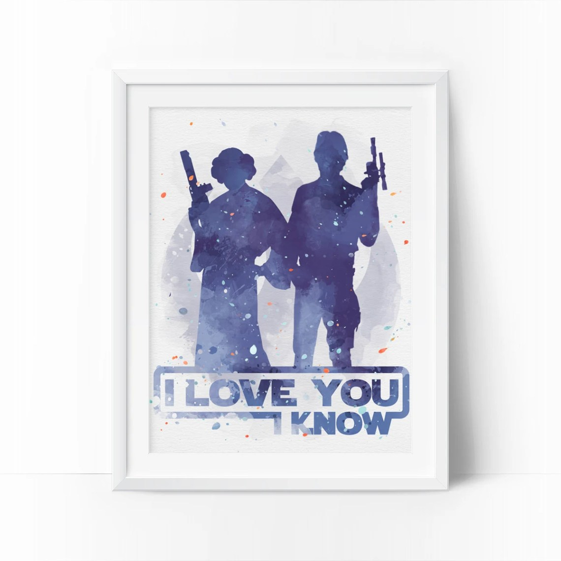 Download Han And Leia I Love You I Know star wars i love you Star
