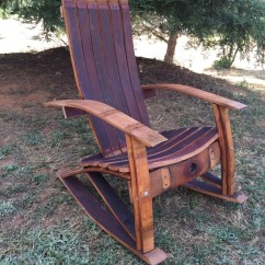 Adirondack Chair Plan Yellow Living Room Chairs Wine Barrel Rocking Woodworking Plans Large
