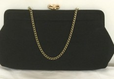 Black Clutch - Clutch Bag - Evening Bag