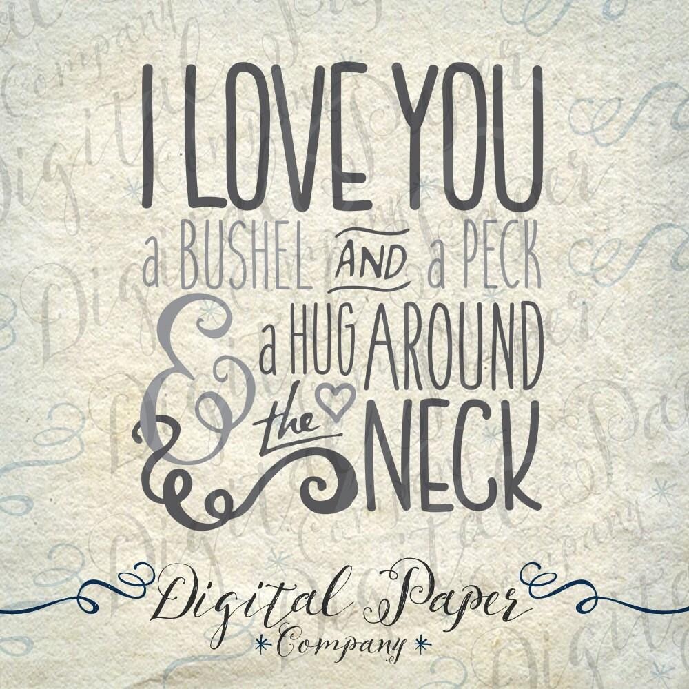 Download Love Svg I love You Svg Bushel & A Peck Svg by ...