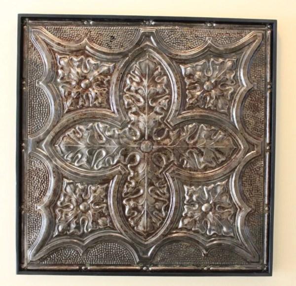 Antique Tin Ceiling Tile Authentic Vintage
